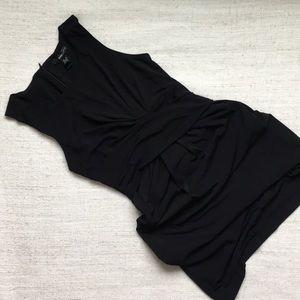 Black Mango Suit dress, XS